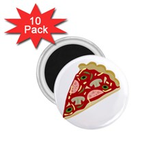 Pizza slice 1.75  Magnets (10 pack)