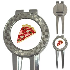 Pizza slice 3-in-1 Golf Divots