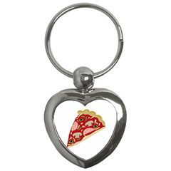 Pizza slice Key Chains (Heart)