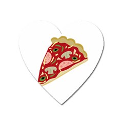 Pizza slice Heart Magnet