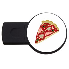 Pizza slice USB Flash Drive Round (1 GB)