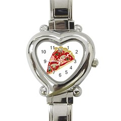 Pizza slice Heart Italian Charm Watch