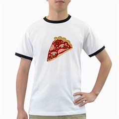 Pizza slice Ringer T-Shirts