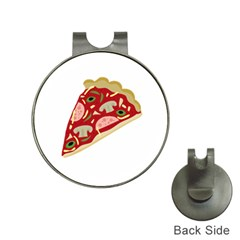 Pizza slice Hat Clips with Golf Markers