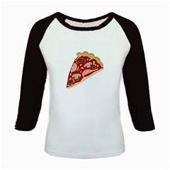 Pizza slice Kids Baseball Jerseys