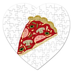 Pizza slice Jigsaw Puzzle (Heart)