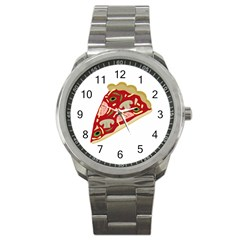 Pizza slice Sport Metal Watch