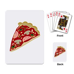 Pizza slice Playing Card