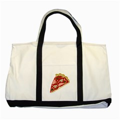 Pizza slice Two Tone Tote Bag