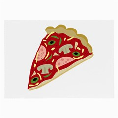 Pizza slice Large Glasses Cloth (2-Side)