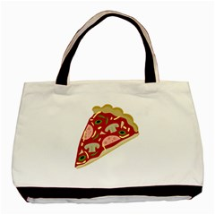 Pizza slice Basic Tote Bag (Two Sides)