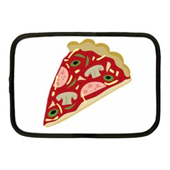 Pizza slice Netbook Case (Medium)