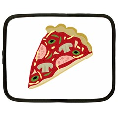 Pizza slice Netbook Case (Large)