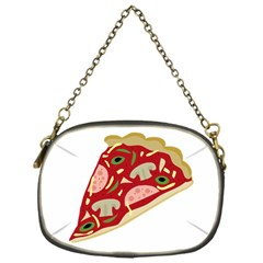Pizza slice Chain Purses (One Side)
