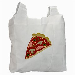 Pizza slice Recycle Bag (Two Side)