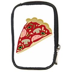 Pizza slice Compact Camera Cases