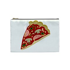 Pizza slice Cosmetic Bag (Medium)