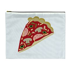 Pizza slice Cosmetic Bag (XL)