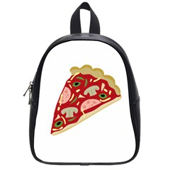 Pizza slice School Bags (Small)