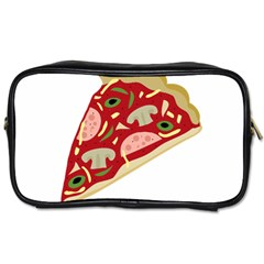 Pizza slice Toiletries Bags