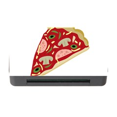 Pizza slice Memory Card Reader with CF
