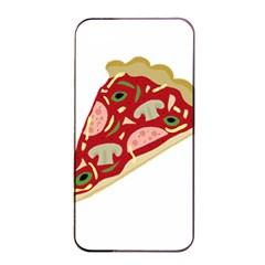 Pizza slice Apple iPhone 4/4s Seamless Case (Black)