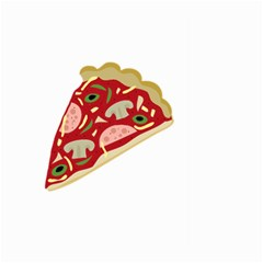 Pizza slice Large Garden Flag (Two Sides)