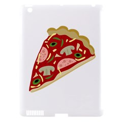 Pizza slice Apple iPad 3/4 Hardshell Case (Compatible with Smart Cover)