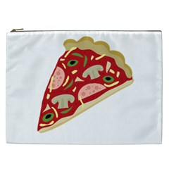 Pizza slice Cosmetic Bag (XXL)