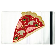 Pizza slice Apple iPad 2 Flip Case