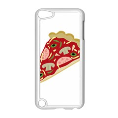 Pizza slice Apple iPod Touch 5 Case (White)