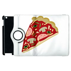 Pizza slice Apple iPad 2 Flip 360 Case