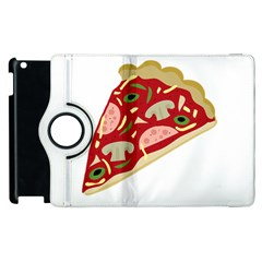 Pizza slice Apple iPad 3/4 Flip 360 Case
