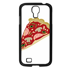Pizza slice Samsung Galaxy S4 I9500/ I9505 Case (Black)