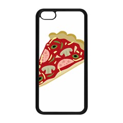 Pizza slice Apple iPhone 5C Seamless Case (Black)