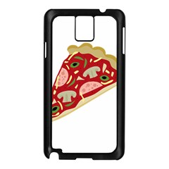 Pizza slice Samsung Galaxy Note 3 N9005 Case (Black)