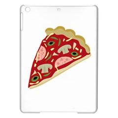 Pizza slice iPad Air Hardshell Cases