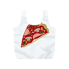 Pizza slice Full Print Recycle Bags (S)