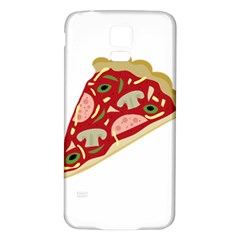 Pizza slice Samsung Galaxy S5 Back Case (White)