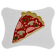 Pizza slice Jigsaw Puzzle Photo Stand (Bow)