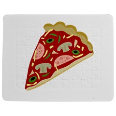 Pizza slice Jigsaw Puzzle Photo Stand (Rectangular)