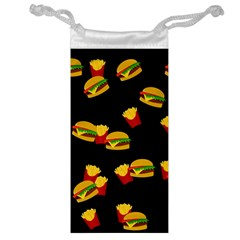 Hamburgers and french fries pattern Jewelry Bag