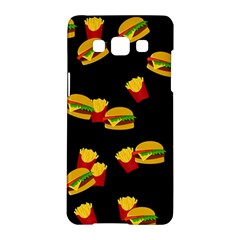 Hamburgers and french fries pattern Samsung Galaxy A5 Hardshell Case