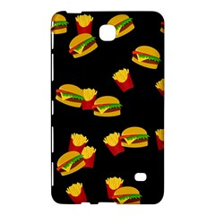 Hamburgers and french fries pattern Samsung Galaxy Tab 4 (8 ) Hardshell Case