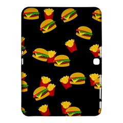 Hamburgers and french fries pattern Samsung Galaxy Tab 4 (10.1 ) Hardshell Case