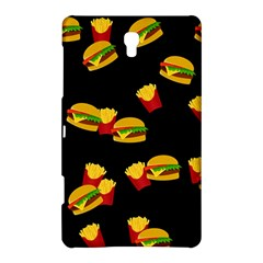 Hamburgers and french fries pattern Samsung Galaxy Tab S (8.4 ) Hardshell Case
