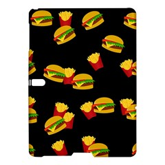 Hamburgers and french fries pattern Samsung Galaxy Tab S (10.5 ) Hardshell Case