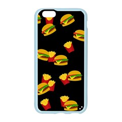 Hamburgers and french fries pattern Apple Seamless iPhone 6/6S Case (Color)