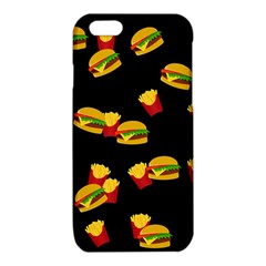 Hamburgers and french fries pattern iPhone 6/6S TPU Case