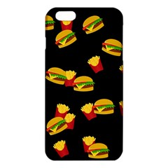 Hamburgers and french fries pattern iPhone 6 Plus/6S Plus TPU Case